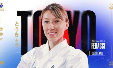 Alexandra Feracci, au Jeux olympiques  de Tokyo